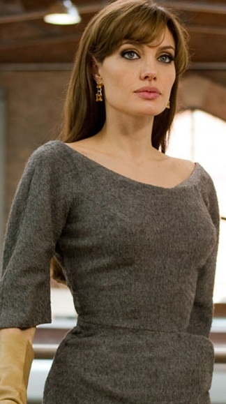 Angelina Jolie in The Tourist, 2010....My fav chic ! I love anything Angelina