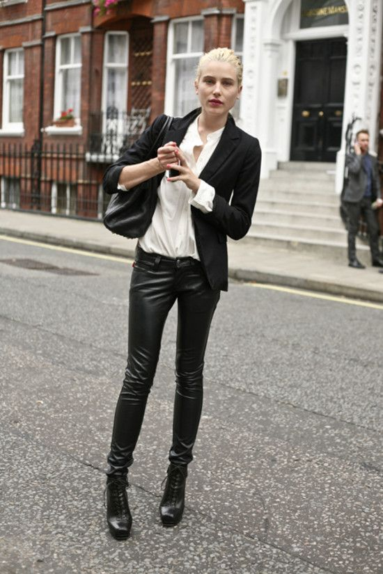 Dree Hemingway, London FW S/S 2010 (I would change the boots out... not a huge fan of those heavy clunkers!)