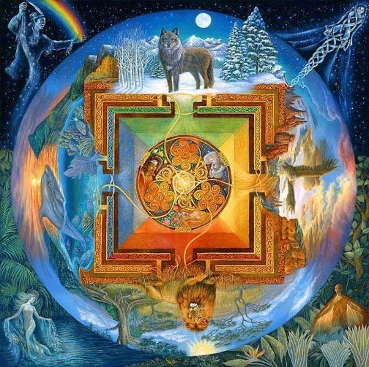 Cynthia Ré Robbins - Sacred Thread Mandala