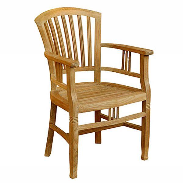 Teak Armchair With High Back Teak Armchair Teak Teak Garden Furniture