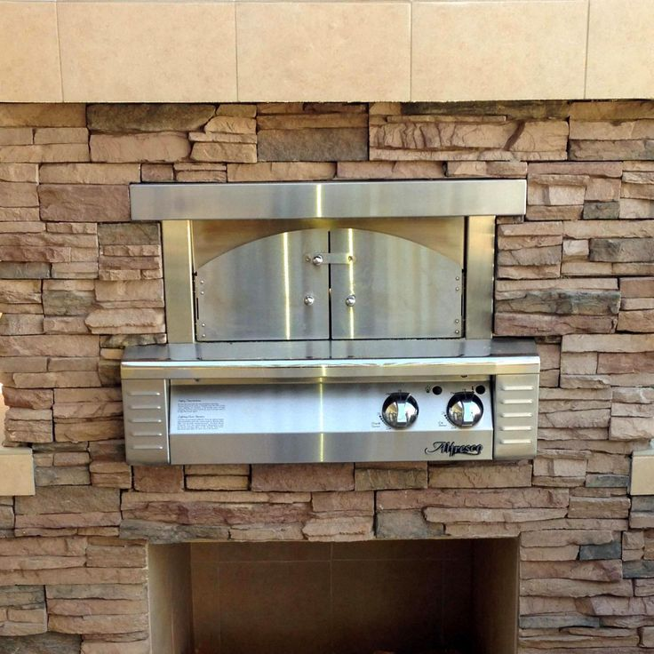 Alfresco 30-Inch Natural Gas Outdoor Built-In Pizza Oven - ALF-PZA-BI-NG available at BBQ Guys. This revolutionary natural gas Alfresco...