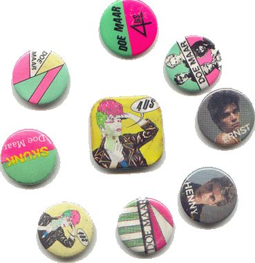 Things of the past ( 70's, 80's, 90's ) - Dingen van vroeger ( 70's, 80's, 90's ) ( Doe Maar Buttons )