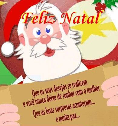 Mensagem Natal - Bonitas e Cartões | Mensagens - Cultura Mix
