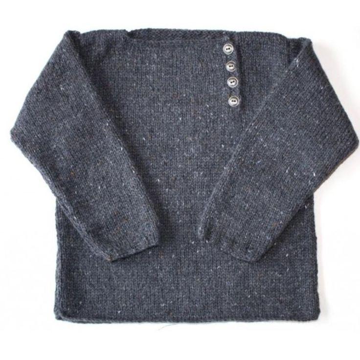 modele pull tricot gratuit 2 ans