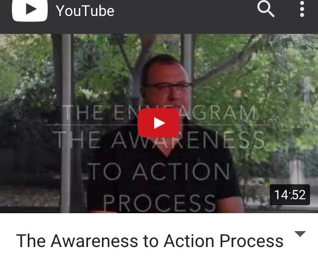 I invite you to take a look at this video. It describes the Awareness to Action process...once you know about the Enneagram, this is how you can use it to create change. It is very powerful. As a coach, I use it with clients all the time and can't tell you how effective it is. Enjoy! https://m.youtube.com/watch?feature=youtu.be&a=&v=jxKEW_UNN0E