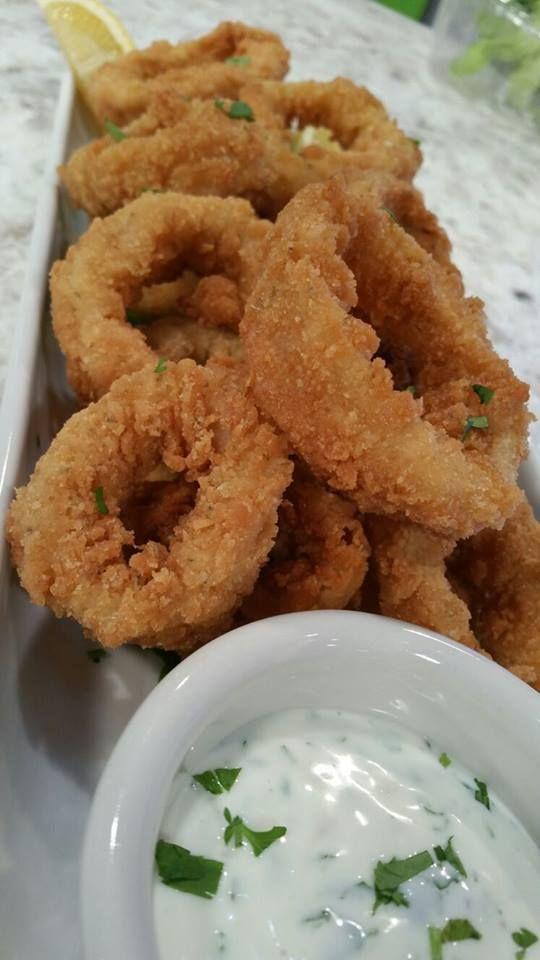 Calamares fritos - Chef Edgardo Noel