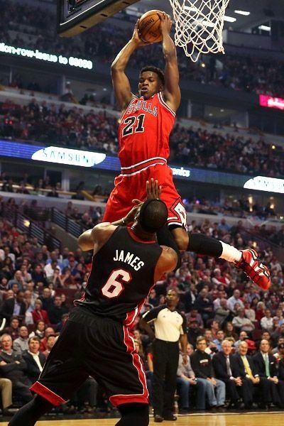 Jimmy Butler wallpaper ·① Download free cool High ... |Jimmy Butler Dunk Wallpaper