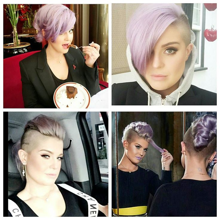 People growing out undercuts shouldn't browse @kellyosbourne instagram. #undercut #newhair by rockalily