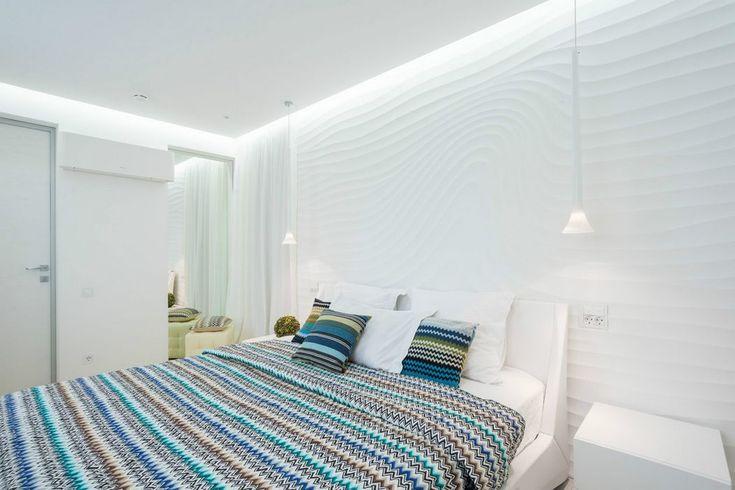Könnyed mint egy tollpihe - elegáns, világos 120nm-es lakás fehérben