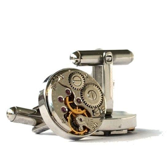 Steampunk mansjettknapper.