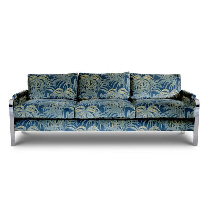 PALMERAL 'Martello' Sofa - Midnight / Green