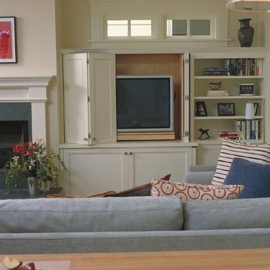 Best 25+ Hidden tv cabinet ideas on Pinterest | Hidden tv, Hide tv ...