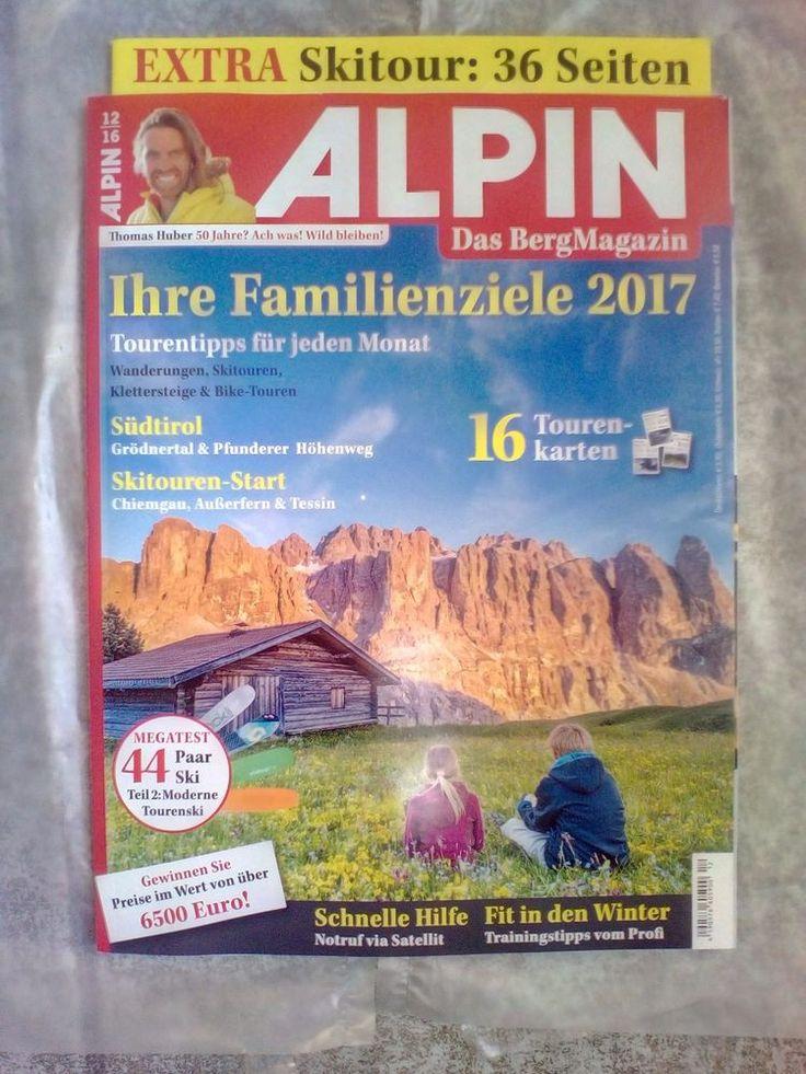 ALPIN!Das Berg Magazin!12/16!NEU