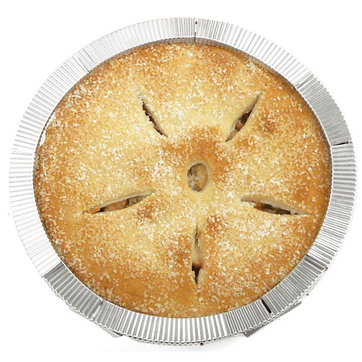 Norpro 3270 5 Piece Pie Crust Shield Set (Pie Crust Shield 5pc), Silver