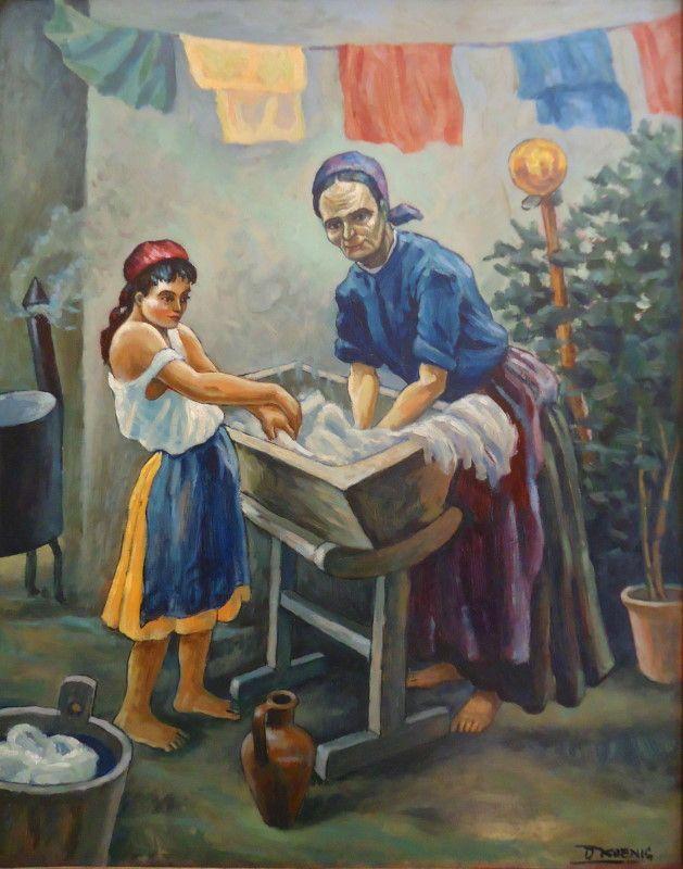 Dezso Koenig - Washing day