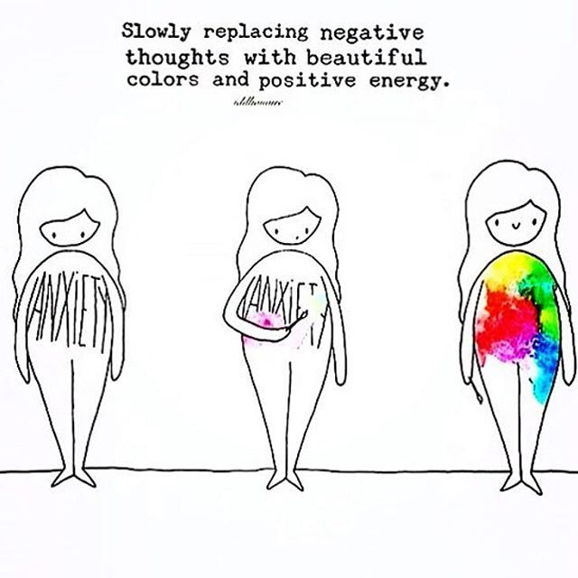replacing negative thoughts