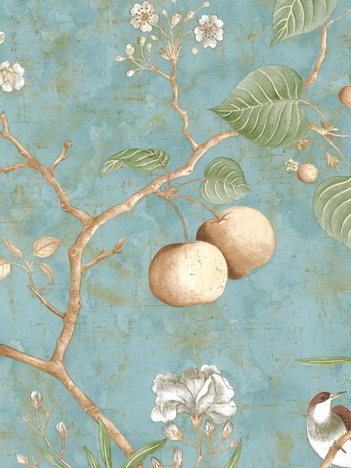爱 Chinoiserie? Mais Qui! 爱 home decor in Chinese Chippendale style - pagoda shelfChinoiserie wallpaper