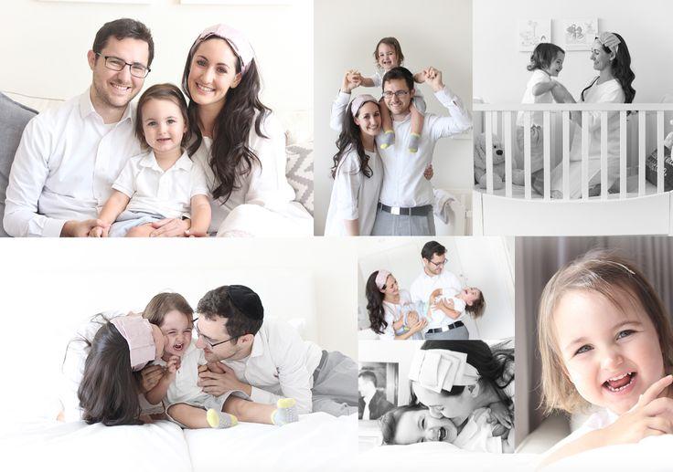 Bright family shoot