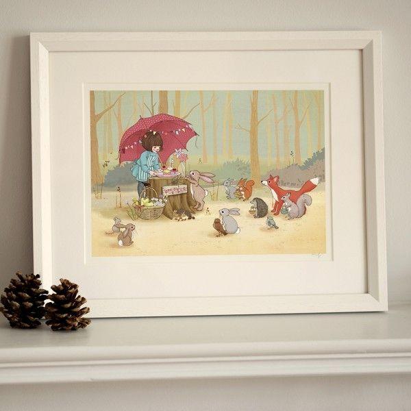 'Lets Play Shop!' Framed Art Print