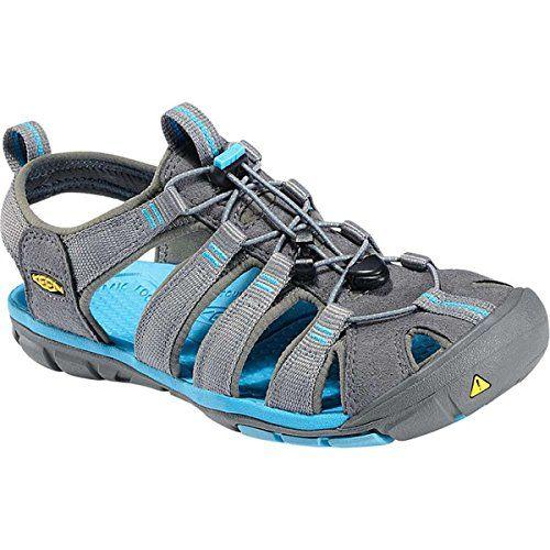 (キーン) KEEN レディース シューズ・靴 サンダル Clearwater CNX Sandal 並行輸入品  新品【取り寄せ商品のため、お届けまでに2週間前後かかります。】 表示サイズ表はすべて【参考サイズ】です。ご不明点はお問合せ下さい。 カラー:Gargoyle/Norse Blue