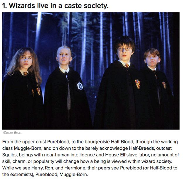 11 Harsh Realities About the World Of Harry Potter | Our 13 Favorite BuzzFeed Geeky Posts Of 2013