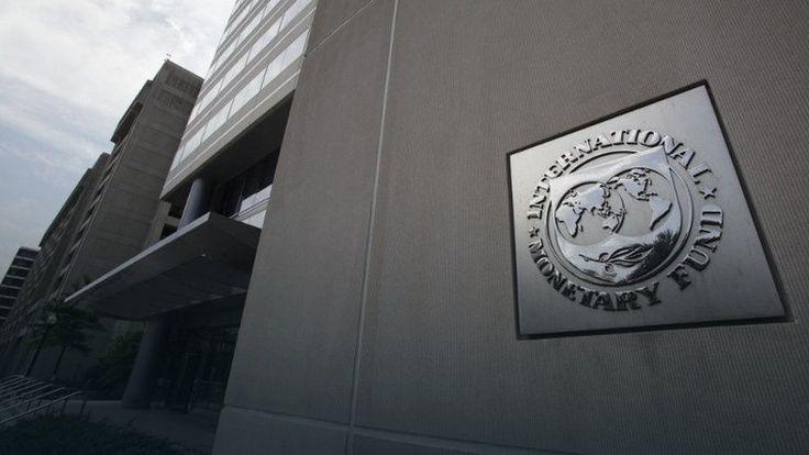Wejście do głównej siedziby Międzynarodowego Funduszu Walutowego w Waszyngtonie