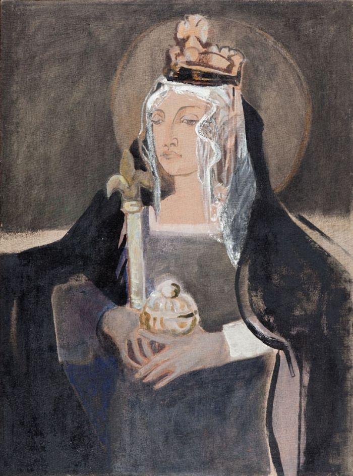 Teresa Pągowska - Portret królowej Jadwigi jako Świętej