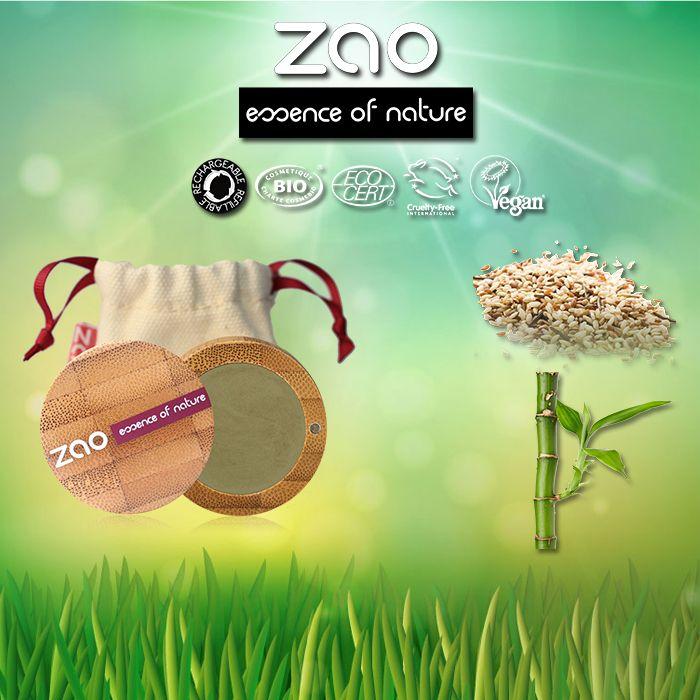 Doğal bambu bitki özü ve organik Prinç Tozu bulunan MattEyeShadow ile şık etkileyici bakışlara sahip olabilirsinizg