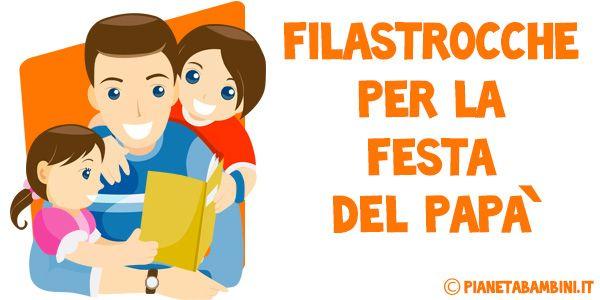 25 Filastrocche per la Festa del Papà per Bambini