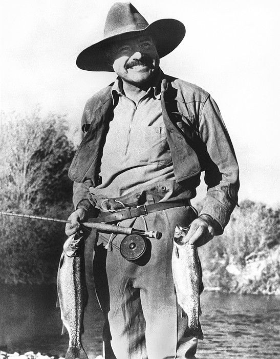 ernest hemingway fly fishing - photo #6