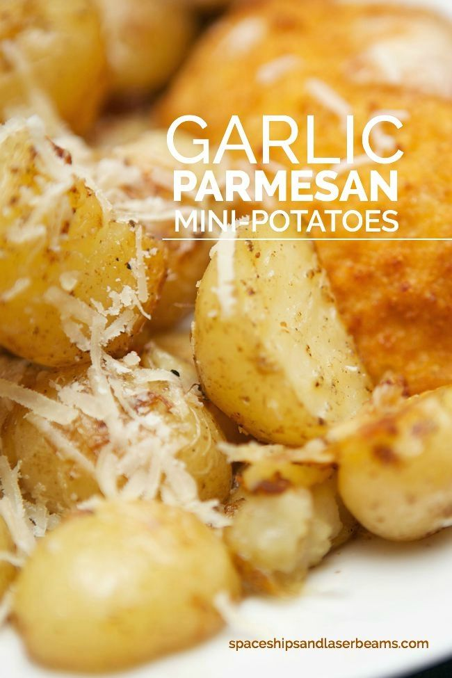 Garlic Parm Potatoes #SimplySpecialMeals AD