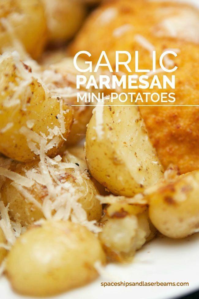 Garlic Parm Potatoes #SimplySpecialMeals AD