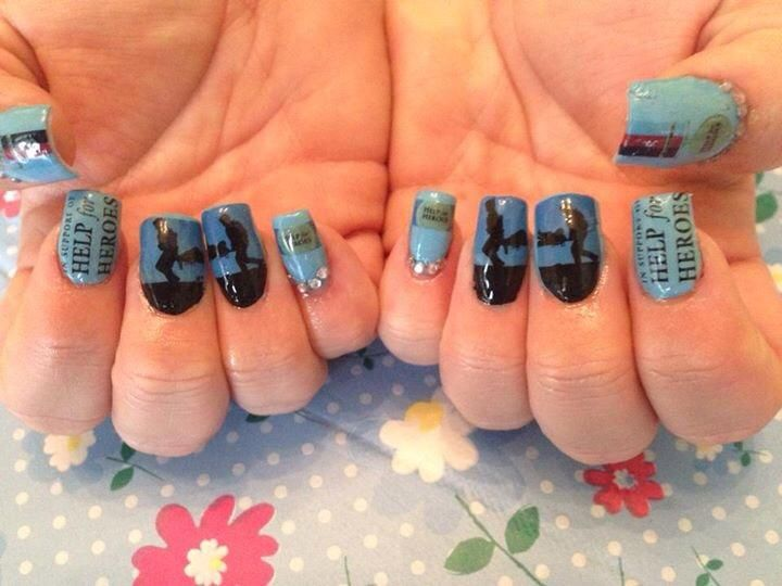 Amazing - Help for Heroes Nails! #H4H