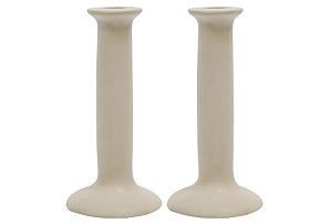 White sandstone candlesticks, yes please!: White Sandstone, Sandstone Candlesticks, Country Chic, S 2 Sandstone, French Country, Decor Stuff, Kitchen Ideas