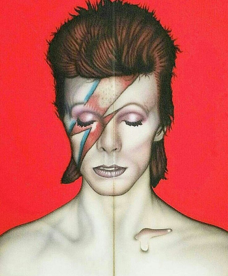 Bowie Airbrush By willy nicholls