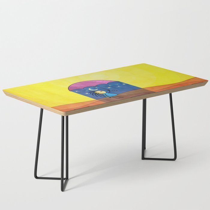 We Only Come Out At Night Coffee Table