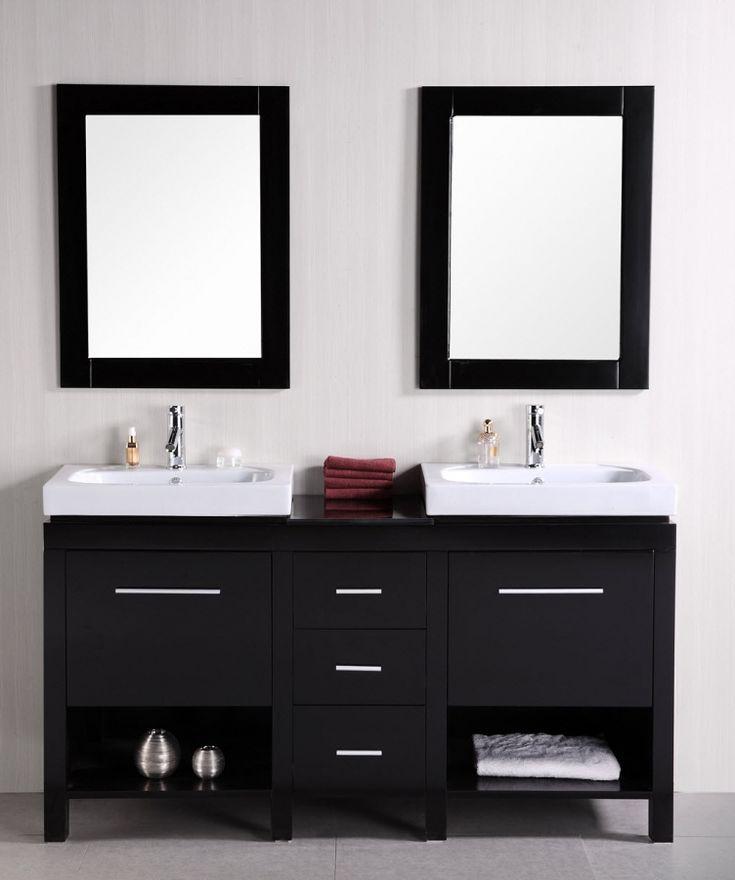 Top 25 best small double vanity ideas on pinterest - Small double sink bathroom vanities ...