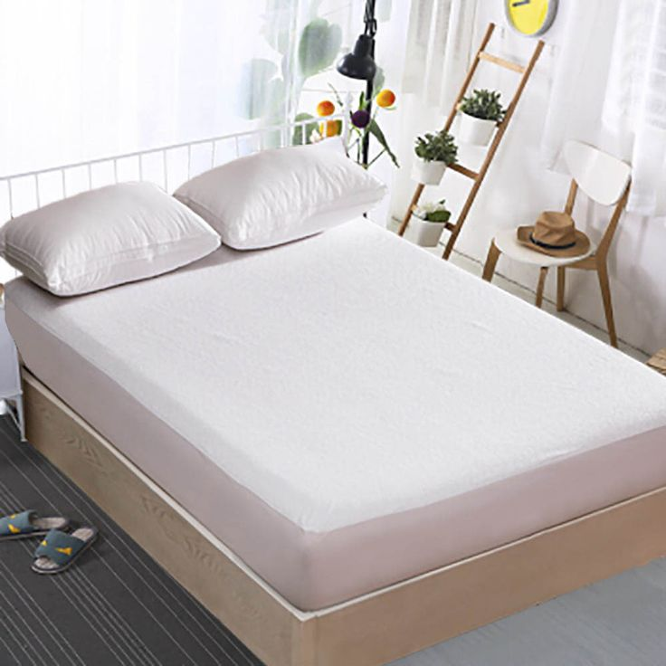 promo russian 80200cm elite 125gsm terry coating tpu high quality waterproof mattress protector #hospital #bed #mattress