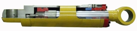 HYDRAULIC CYLINDERS A Hydraulic cylinder is a mechanical actuator that is used to give a unidirectional force through a unidirectional stroke.