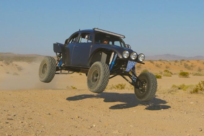 We take a look at a German classic with a Japanese engine that makes for an awesome baja bug.