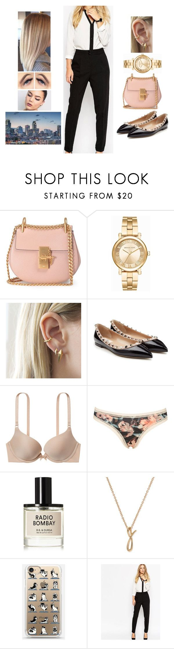 """Travelling to Montréal, Canada (2) 🇨🇦"" by teodoramaria98 ❤ liked on Polyvore featuring Chloé, Michael Kors, Valentino, Victoria's Secret, Calvin Klein, D.S. & DURGA, Anne Klein and Fashion Union"