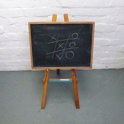Vintage Blackboard and Easel www.vintageactually.co.uk