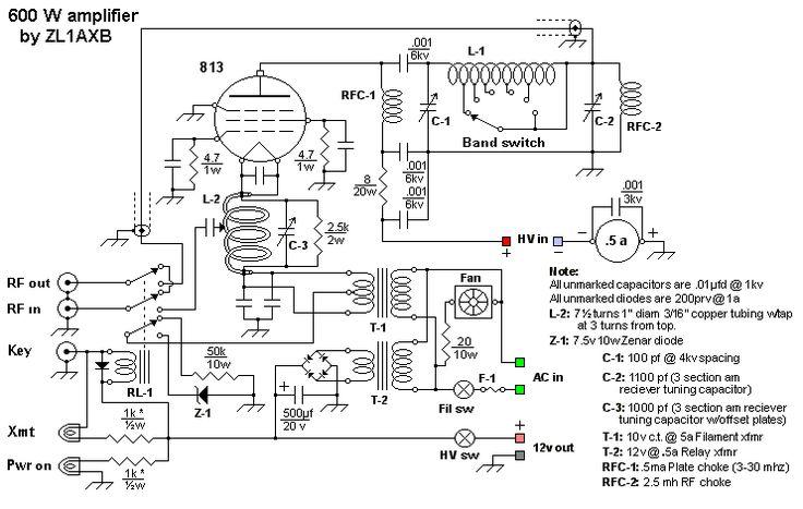 A low cost 600 watt ultra-linear amplifier for 40, 20, 17