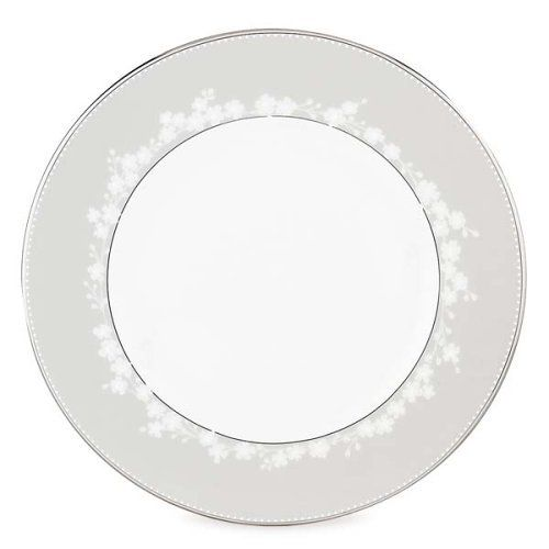 Lenox Bellina Bone China Platinum Banded Dinner Plate by Lenox. $32.00