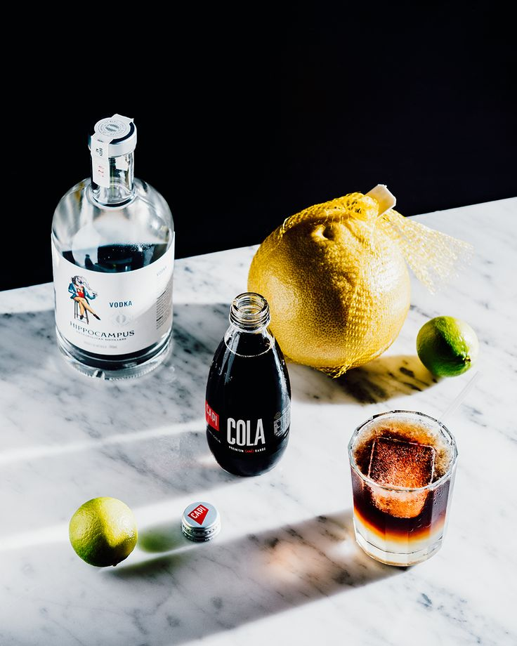 When making a simple cocktail, it's all about using premium ingredients. We've paired our CAPI Cola with Hippocampus' metropolitan distilled vodka, and we're happy to say it's a perfect match.