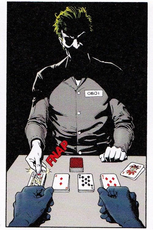 Playing cards with the Joker