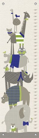 Happy Animal Herd by Vicky Barone Growth Chart