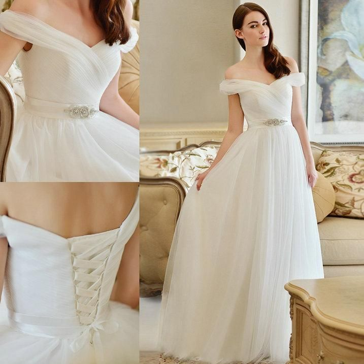 Wholesale a line satin wedding dress, a line strapless wedding dress and a line strapless wedding dresses on DHgate.com are fashion and cheap. The well-made elegant princess a-line wedding dresses for bohemian garden beach brides 2015 custom made sale off the shoulder corset and tulle bridal gown sold by glamorousqueen is waiting for your attention.