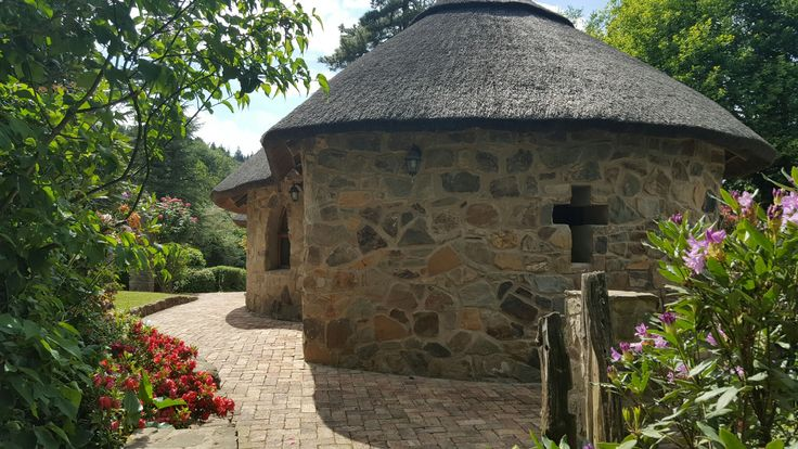 St Patrick's church at Hogsback, Eastern Cape