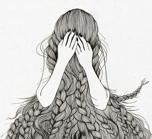168 best images about zentangle hair on pinterest lady for Cerco illustratore